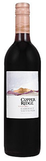 Copperidge Cabernet Sauvignon 750ml - Case of 12